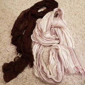 Accessories - Neutral Colored Scarf Set 🍂
